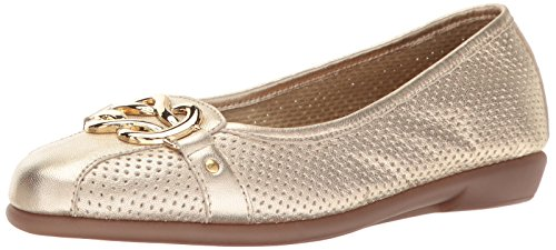 Aerosoles Women's High Bet Ballet Flat Gold Leather sale top quality cheap low cost buy cheap low shipping marketable cheap online cheap sale best wholesale Gm4i70k