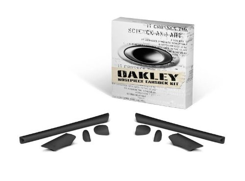 Oakley Half Jacket Mens Earsock Kit Sunglass Accessories - Black / One - Parts Sunglass