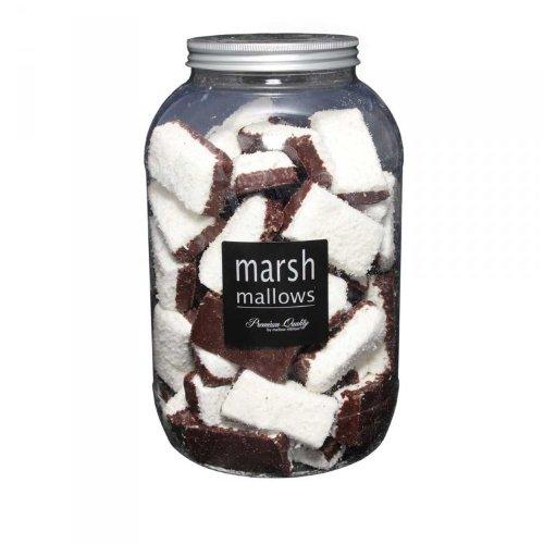Marsh Mallows - Black and White - Schaumzucker 60x8g