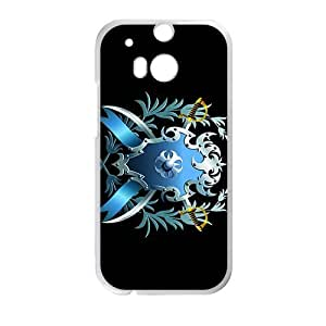 Cool Badge Pattern High Quality Custom Protective Phone Case Cove For HTC M8