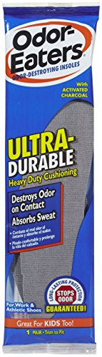 Odor-Eaters Ultra-Durable Odor-Destroying Insoles (Eaters Odor Insoles)