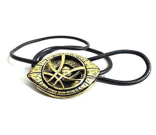 (BlingSoul Benedict Cumberbatch Costume Cosplay Necklace for Men - Eye Amulet Stone Props Jewelry Merchandise Necklaces for Women (Large) )