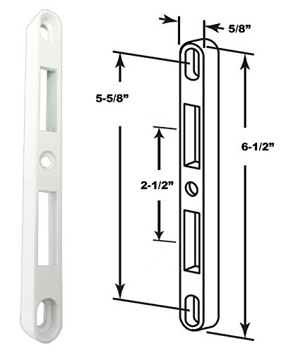 Patio Door Keeper for 2-Point Mortise Lock ()