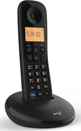 BT Everyday Cordless Home Phone with Basic Call Blocking, Single Handset...