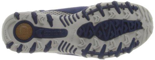 Allrounder Mephisto Womens Niro Mary Jane Shoes Dark Blue Suede/Cool Grey ZvgQyrx1LI
