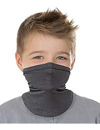 Laraine Kids Neck Gaiters Face Mask Boys Girls Bandanas Face Cover Scarf UPF 50 Sun Dust Protection