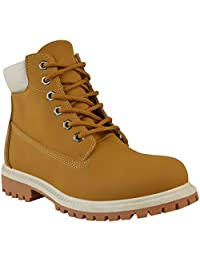 Fashion Thirsty Womens Combat Army Boots Military Grip Sole Lace Up Size