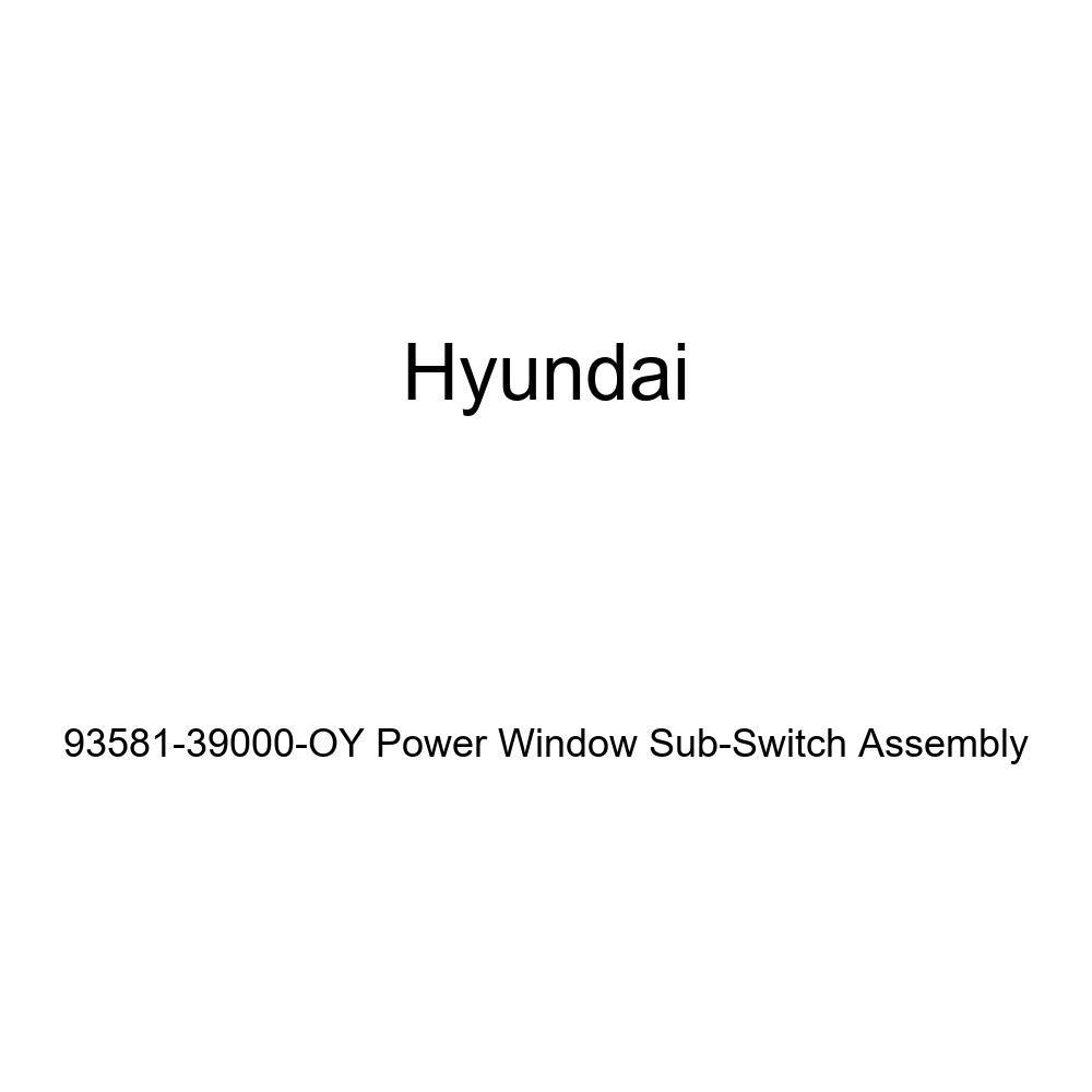 Genuine Hyundai 93581-39000-OY Power Window Sub-Switch Assembly