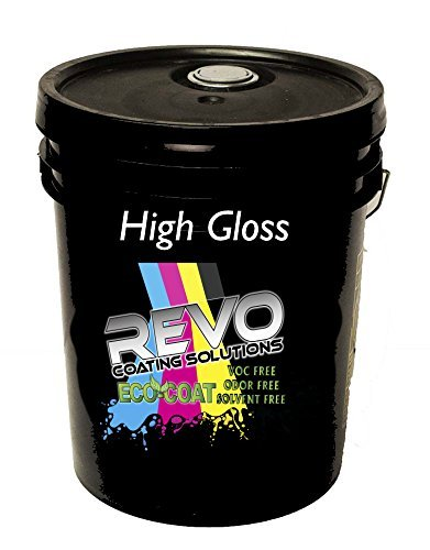 REVO ECO-Coat 3006 High Gloss UV Coating for Digital Print - 5 Gallon