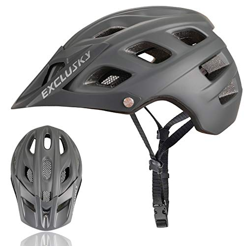 Exclusky BMO Mountain Bike Helmets (Best Conquer Men Bicycles)