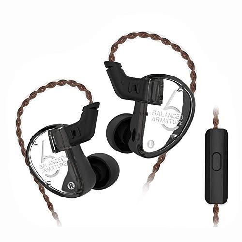Yinyoo KZ AS06 In Ear Earphones KZ Triple Driver 3BA In Ear Monitors Armature Headphones High Fidelity HiFi Headset…