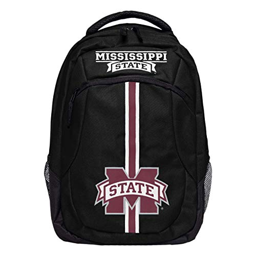 Mississippi State Bulldogs Bag Gym (FOCO NCAA Mississippi State Bulldogs Action BackpackAction Backpack, Team Color, One Size)