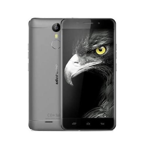 Neueste Veröffentlicht Ulefone Metall - Android 6.0 Corning Gorilla-3-Bildschirm 5,0 Zoll 4G Smartphone 3GB RAM Octa-Core-Fingerabdruck-Scanner GPS OTG Bluetooth 4.0 - Grau