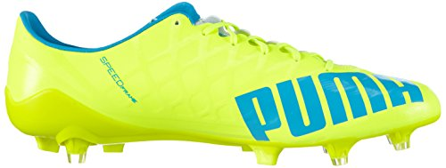 Jaune Football SL 01 Safety white atomic Puma Yellow Blue de Chaussures Homme Evospeed FG Gelb s Zvqw8Y