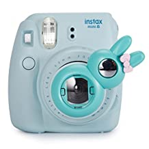 CAIUL Rabbit Style Close Up Lens with Self-portrait Mirror for Fujifilm Instax Mini 8 8+ 9 7s and Polaroid PIC-300 (MINT)