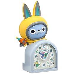 SEIKO CLOCK Yokai watch quartz alarm clock (white pearl paint) USA Byun JF380A
