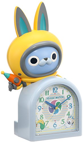 SEIKO CLOCK Yokai watch quartz alarm clock (white pearl paint) USA Byun - Online Film Thailand