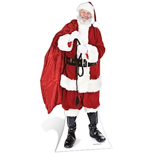 (SC14 Santa with Sack of Toys Cardboard Cutout Standup)