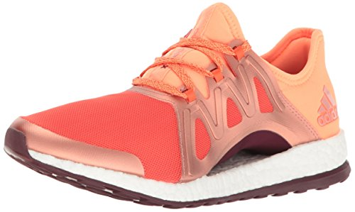 Adidas Performance Women's Pureboost Xpose Running Shoe Energy/Glow Orange/Light Maroon factory outlet for sale cheap sale sneakernews cheap with paypal with mastercard sale online IT6o1K