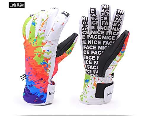 Winter Motorcycle Ski Gloves Men Snowboard Gloves Women Mountain Skiing Snowmobile Guantes Ciclismo C005 XL