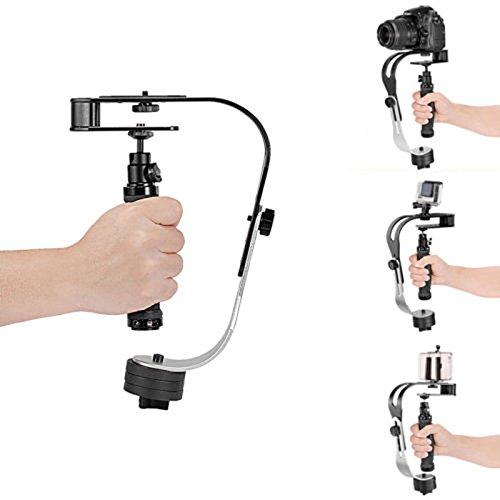 FidgetFidget カメラスタビライザー ビデオステディカム手持ちビデオカメラ デジタル一眼レフカメラ用   B07L2RWPVR