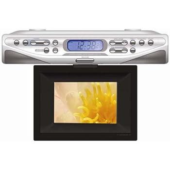 Amazon Com Sony Icfcdk50 Under Cabinet Kitchen Cd Clock