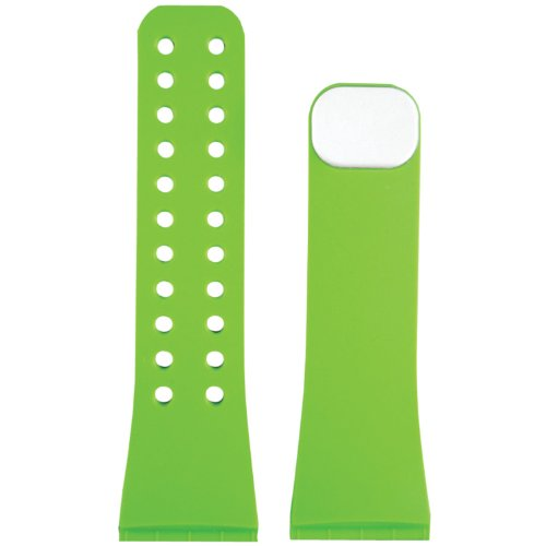 LifeTrak Reversible/Interchangeable  ComfortFit Band, White/Woodland Green