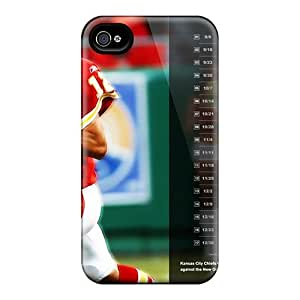 Flexible Tpu Back Case Cover For Iphone 6 - Kansas City Chiefs