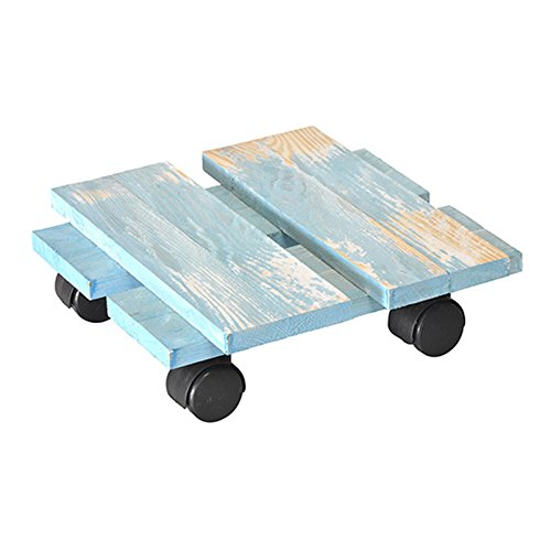 Wagner System 20085701 Multi-Roller Loft Gardening Wagon, Blue