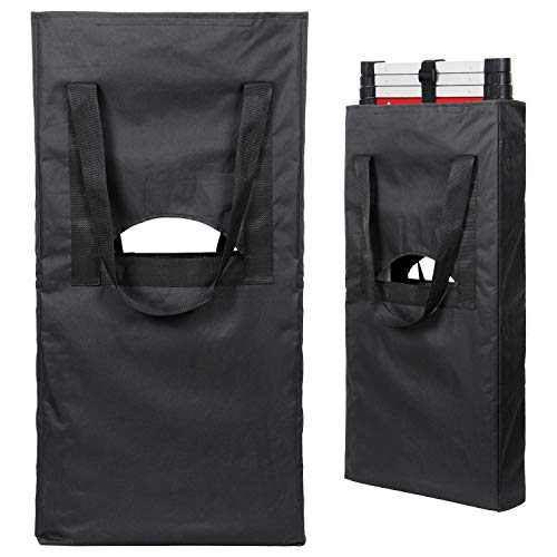 Telescoping Ladder Carrying Bag with Wide Strap, Dust Cover - Bumper Ladder