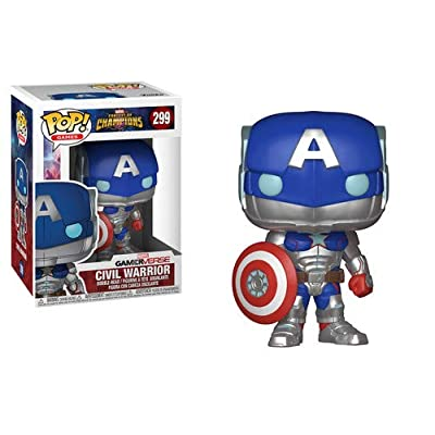 Funko Pop! Games: Marvel - Contest of Champions - Civil Warrior Collectible Figure: Funko Pop! Games:: Toys & Games