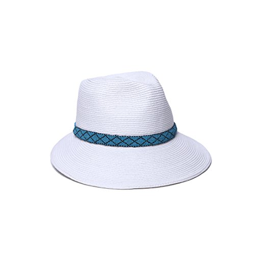 physician-endorsed-womens-regent-asymmetrical-brim-beaded-trim-hat-with-rated-upf-50-white-turquoise
