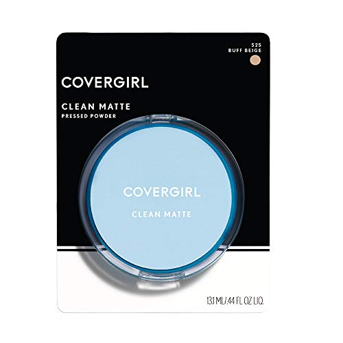 CoverGirl Clean Oil Control Pressed Powder, Buff Beige (W) 525, 0.35-Ounce Pan (Pack of ()