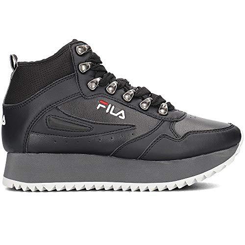 Rif Donna Fila 25y Ripple Wmn 1010458 Nero Zeppa Scarpe Sneakers Orbit qq0Er