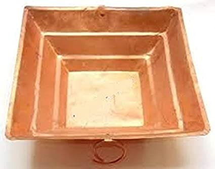 Amazon.com: PLANET 007 1 PC COPPER HAVAN KUND HAWAN HINDU ...