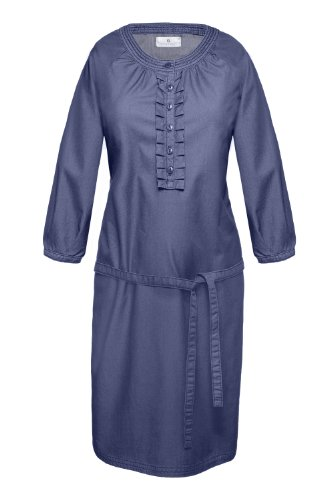 Blau Jasna Kleid Ink 40850 Damen Blue bellybutton 10686 Umstandsmode T6wp7qz