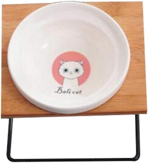 Tazón De Comida para Mascotas ,Cuenco Elevado para Gatos Perros ...
