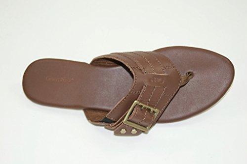 CAT CATERPILLAR Footwear - Zuecos de Piel para mujer Marrón marrón