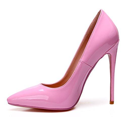 Naiset Korkokengät Kengät Toimivaltaiselle Vaaleanpunainen Koko Meitä Ylellisyyttä Teräväkärkiset Zaproma Korkokenkiä Pumppuja 4 15 FqIt05