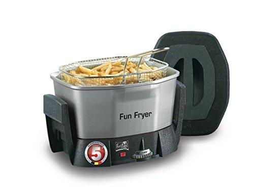 Fritel Fun Fryer FF 1200, Acero inoxidable - Freidora: Amazon.es ...