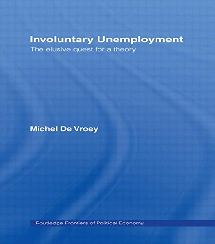 Involuntary Unemployment (Routledge Frontiers of Political Economy)