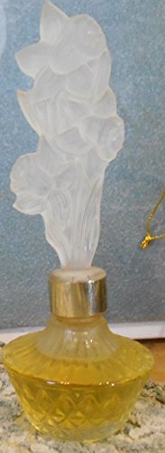 (Avon Elusive Perfume Bath Oil 1/2oz Dab Vintage Fragrance Splendor Daffodil Bottle)