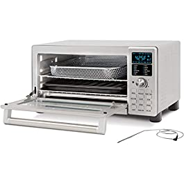 NUWAVE BRAVO XL 1800-Watt Convection Oven with Crisping and Flavor Infusion Technology (FIT) with Integrated Digital…