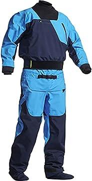 Dry Suits for Men in Cold Water Kayaking,Demanding Whitewater Paddling,River Snorkeling,Ocean Padding,Neoprene