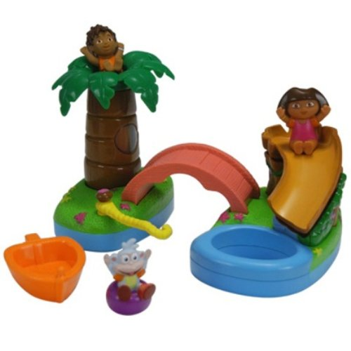 Floating Island Bath Time Adventure (Toys Diego)