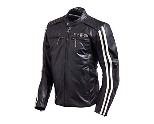 Triumph Beachley Leather Motorcycle Jacket (XXL)