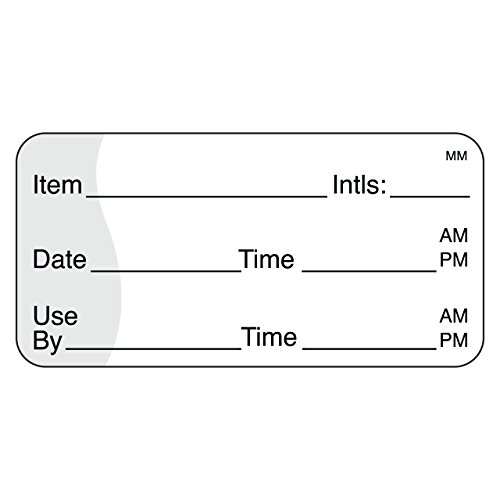 "DayMark IT110117 MoveMark Use by Removable Label, 1"" x 2"" (Roll of 1000)"