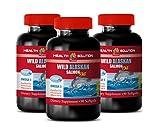 Brain Health Supplement - Wild Alaskan Salmon Oil 2000 MG - Omega 3 - Omega 3 Supplements - 3 Bottles 270 Softgels