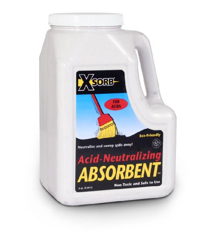 (XSORB Acid Neutralizing Absorbent Bottle 6 qt. (Case of 2))