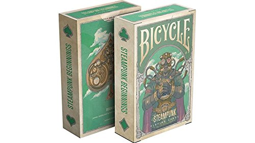 Steampunk Beginnings Playing Cards 3